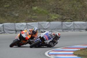 Lorenzo e Pedrosa - Brno 2013