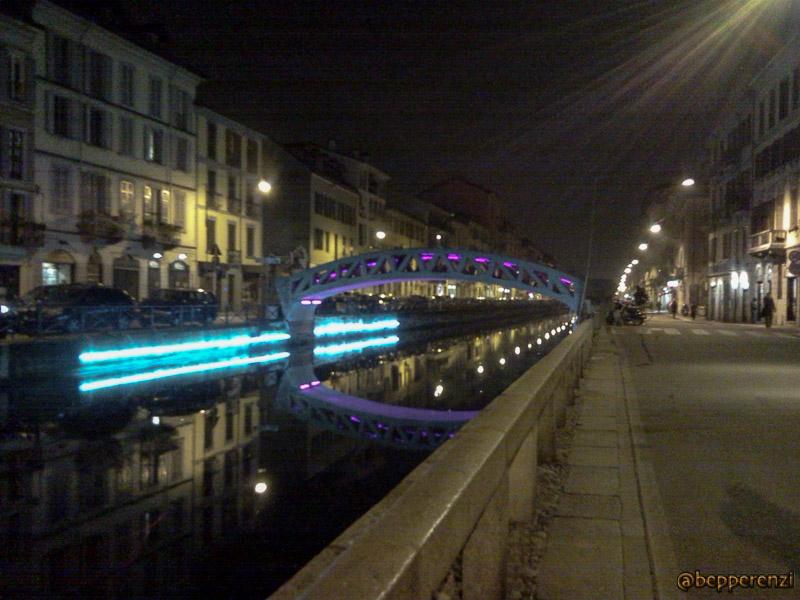 Naviglio Grande - il primo ponte