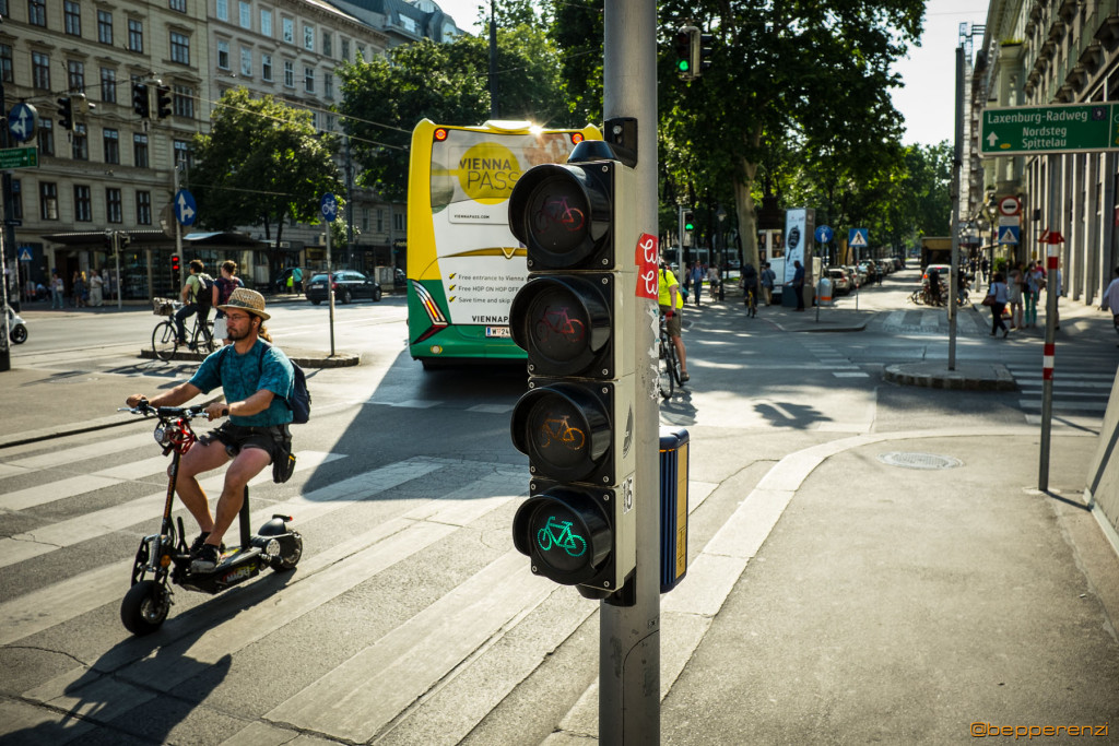 Semaforo per biciclette