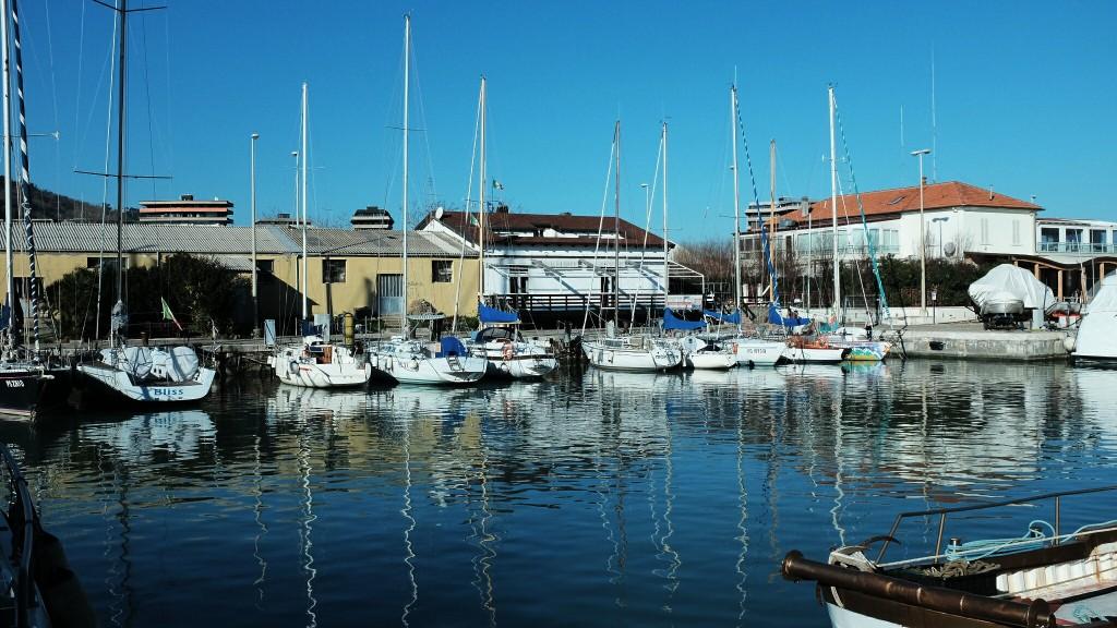 Barche al porto di Pesaro