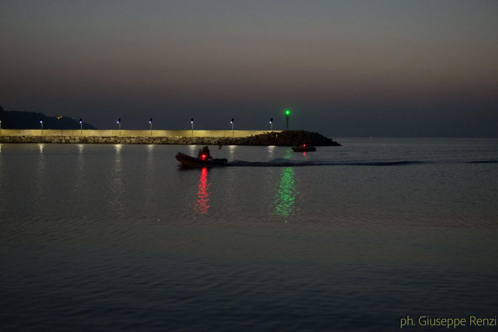 Porto di Pesaro - il Rientro dei Pescatori